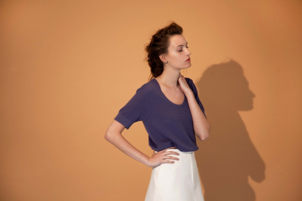 T-shirt femme coton Montagut allure smart