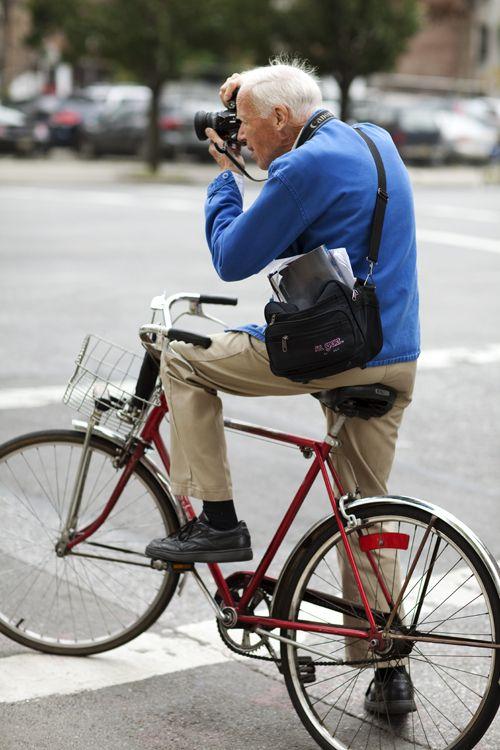 Bill Cunningham bike