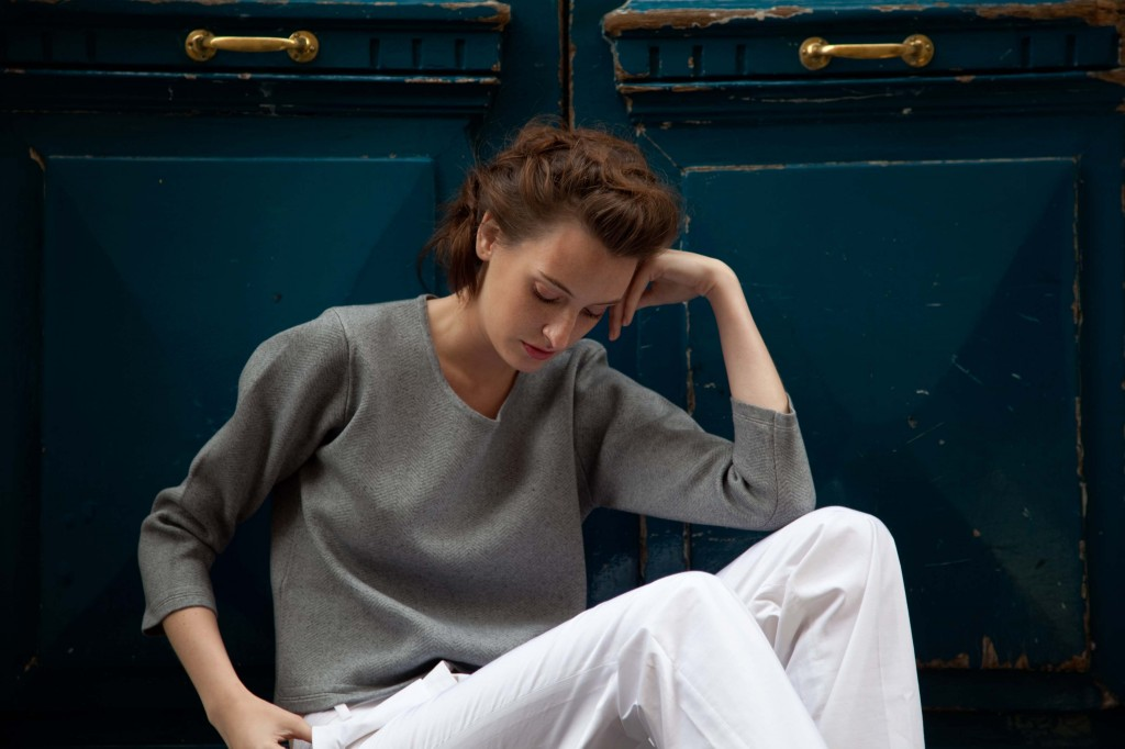 Montagut cotton and cashmere sweatshirt in summer