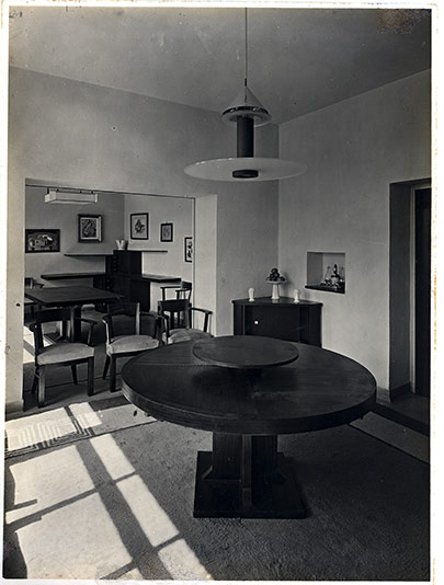 Eileen Gray décoration villa Noailles