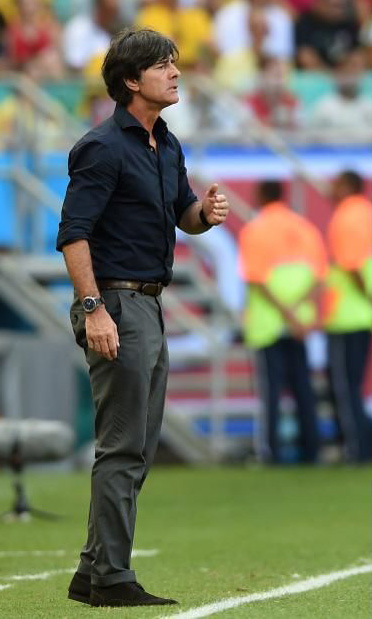 Joachim Löw chemise noir