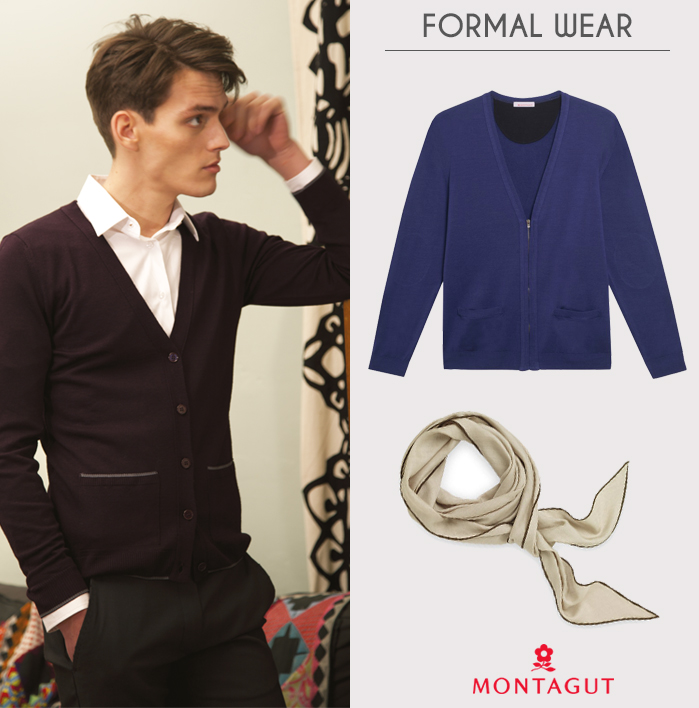 Montagut cardigan formal