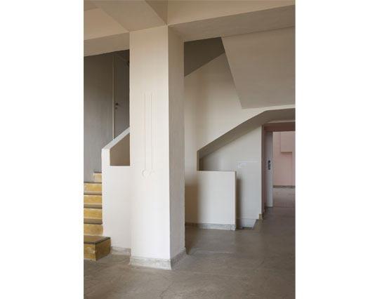 Villa Noailles Hyères escalier