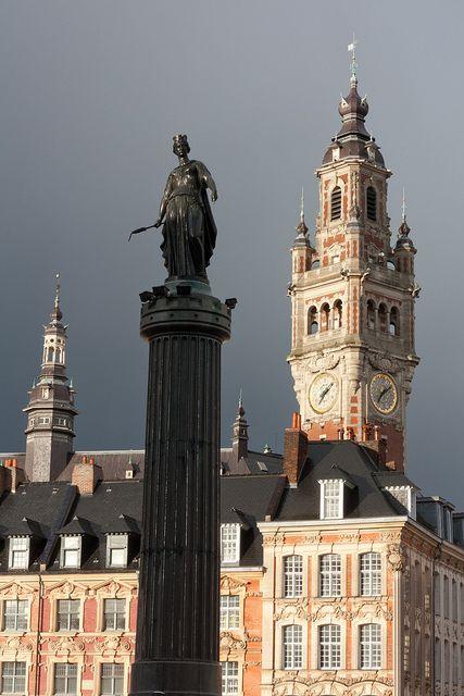 colonne de la deesse à Lille