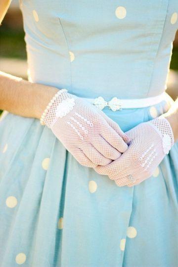 gants tenue mariage