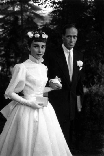 mariage Audrey Hepburn
