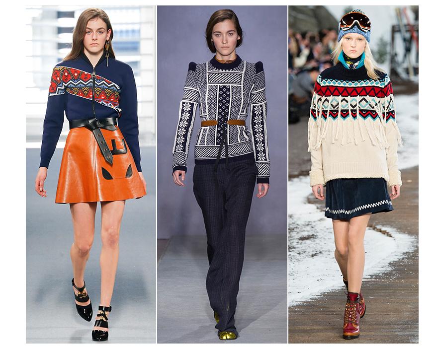fashion sweater jacquard