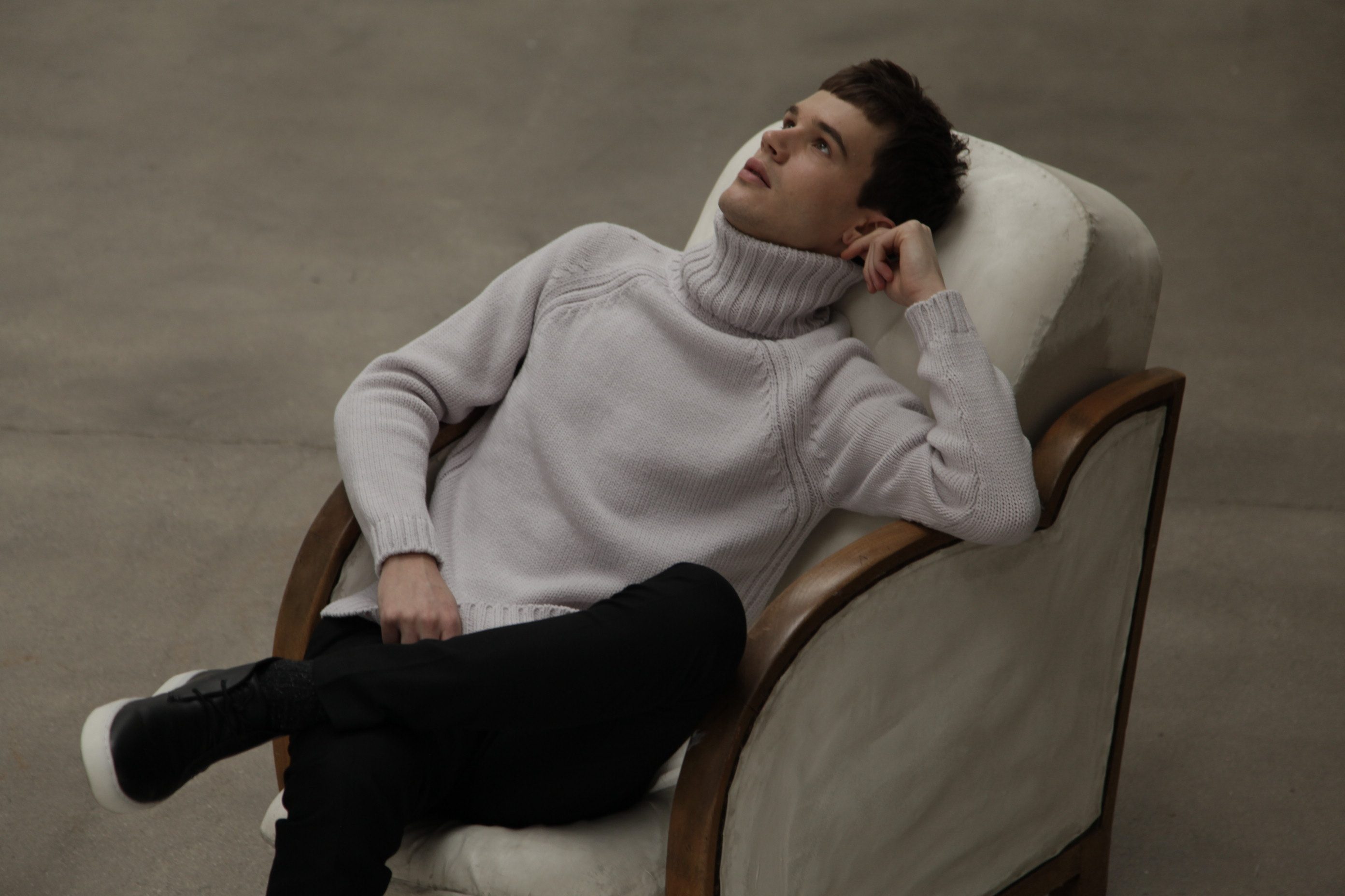 Men's Montagut collection turtleneck sweater 2016