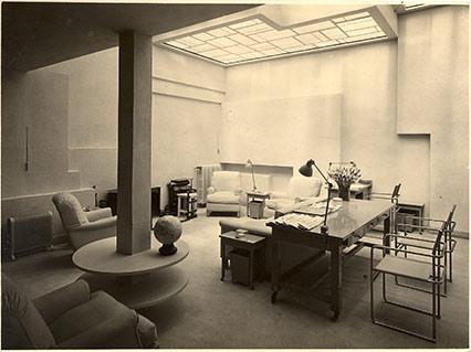 villa noailles living room