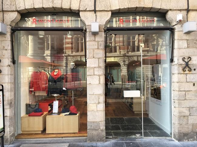 Nouvelle boutique Montagut à Lille