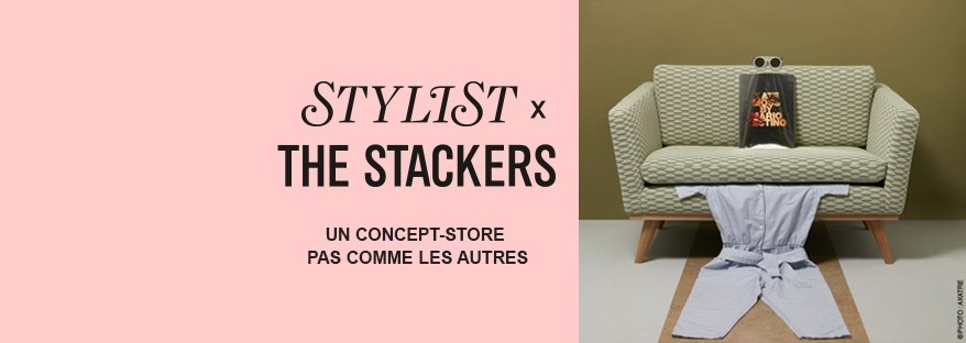 Salon Stylist x The Stackers Concept-store