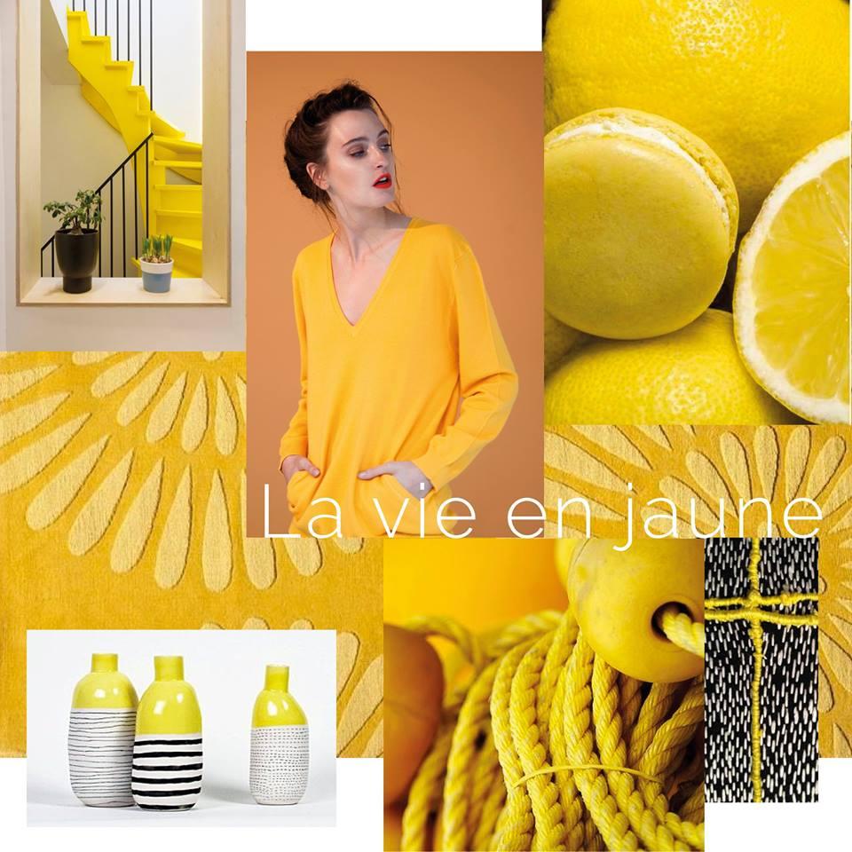Tendance jaune en été