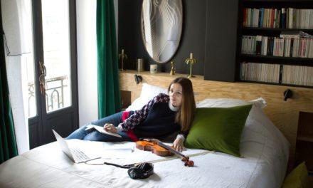 Karen Brunon, une amoureuse de la maille