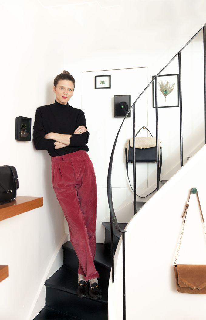 Charlotte Balme cashmere pullover Montagut Wagram