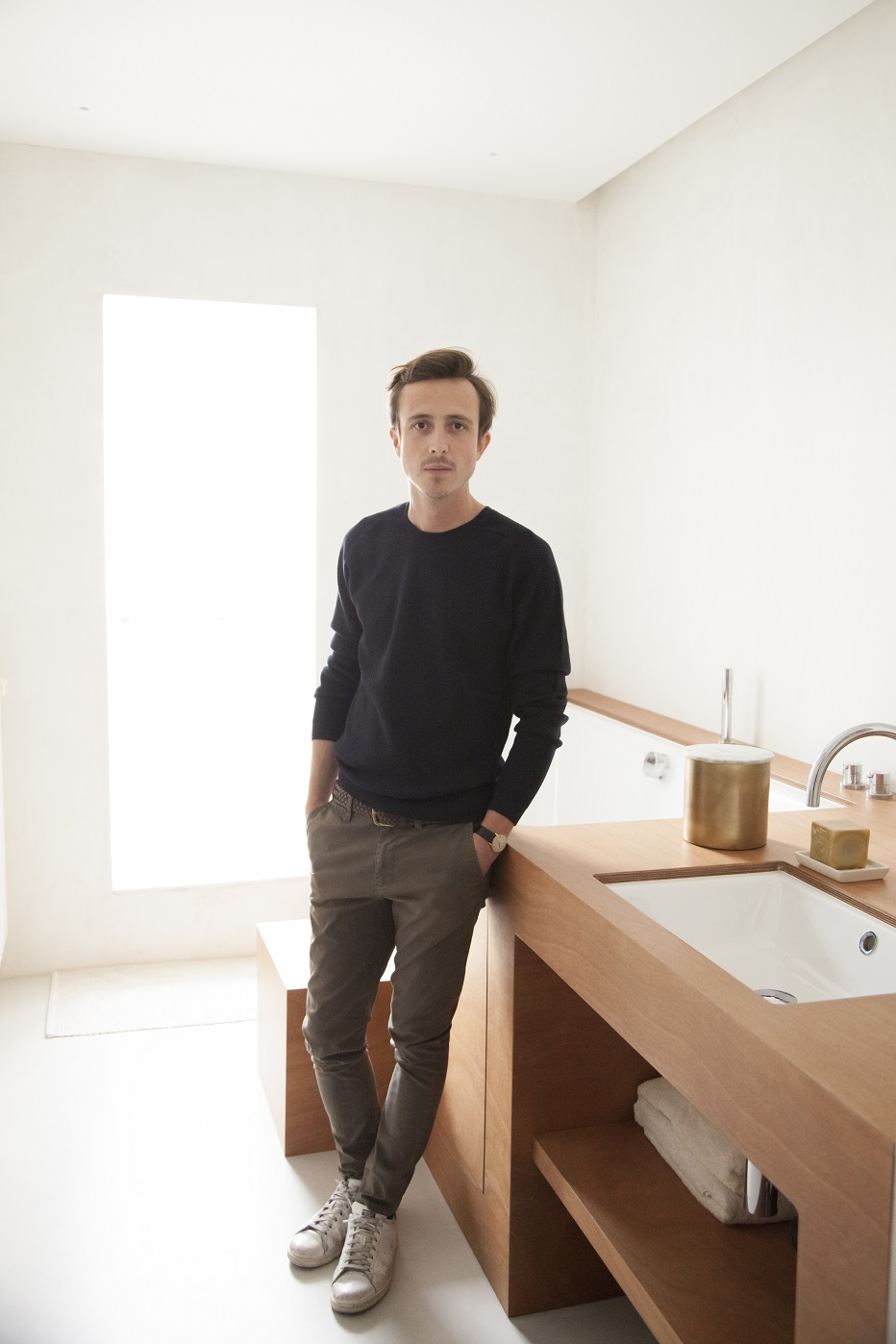 Bertrand Guillon contemporary universe architect