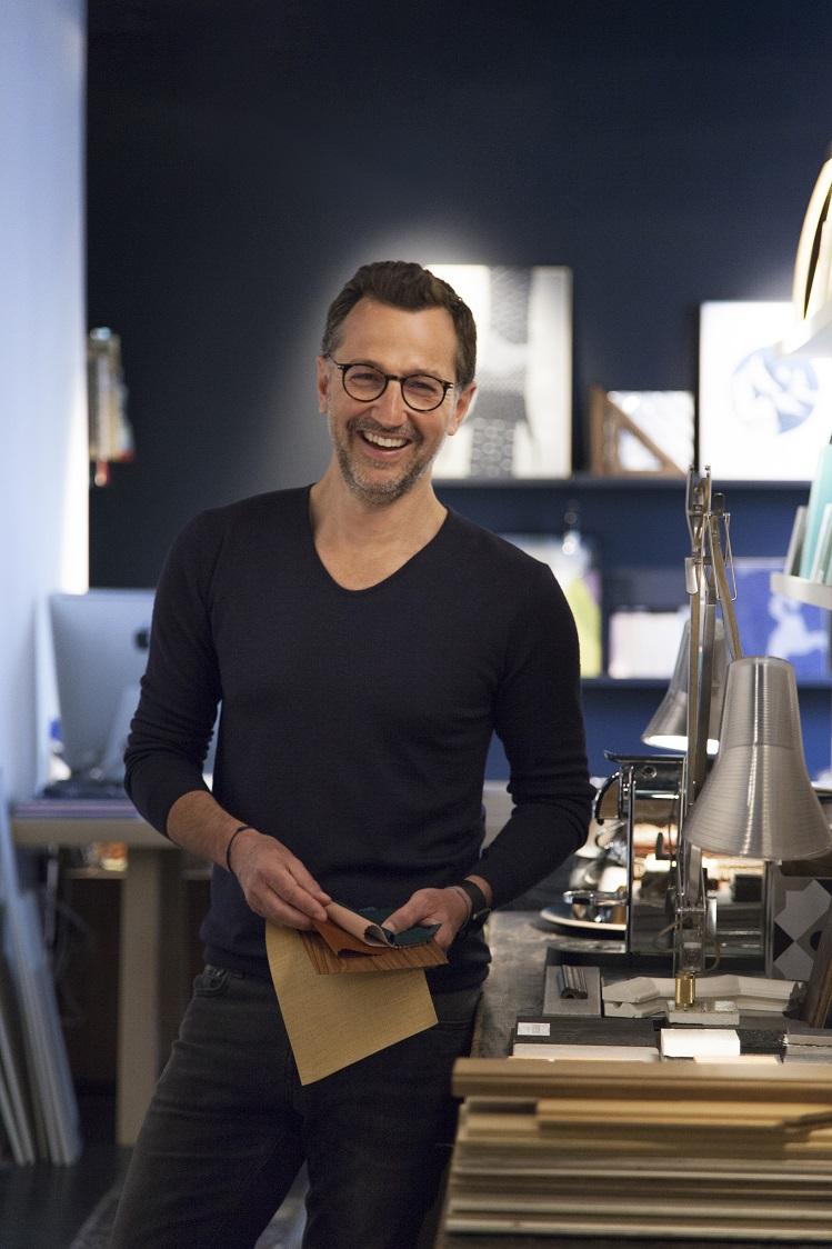 Thierry Michault portrait pour Montagut