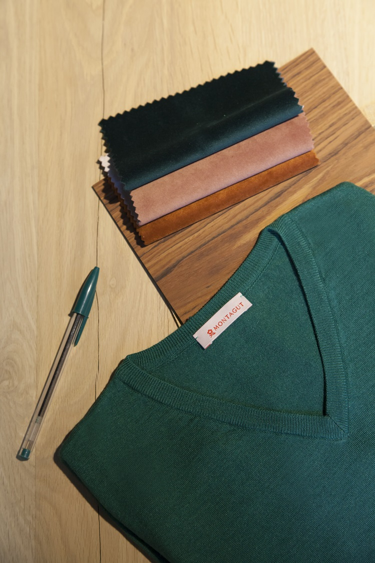 green pullover Montagut