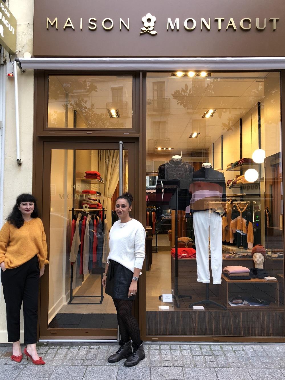 La boutique de Biarritz et son nouveau visage
