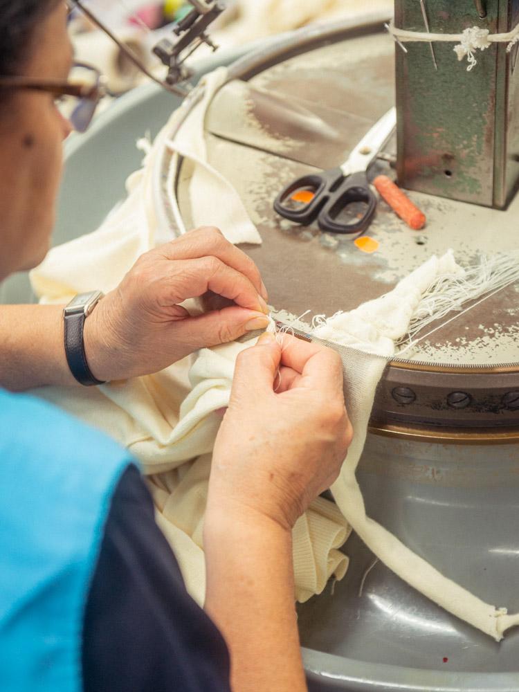 fabrication masques Coronavirus Maison Montagut