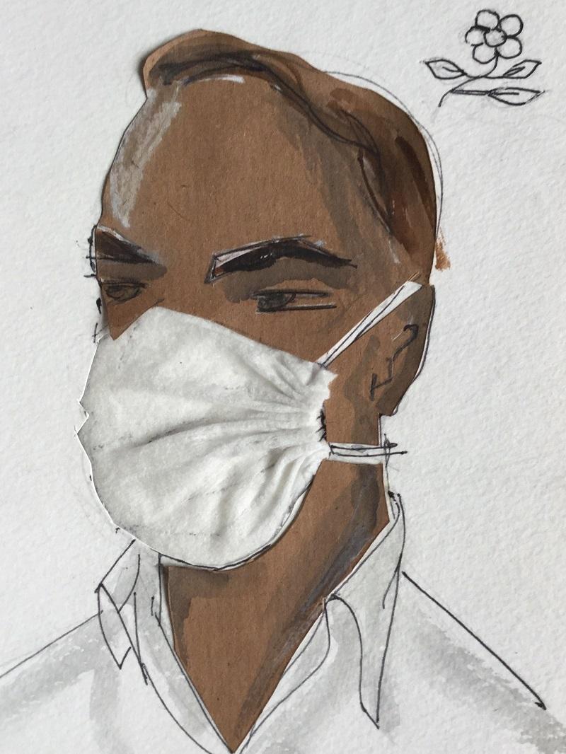 masks COVID 19 Maison Montagut