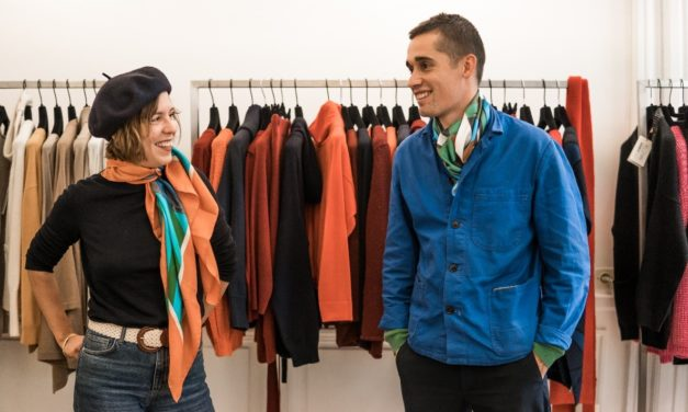 Paul and Marie, photographer and set-designer of the 2020 summer collection