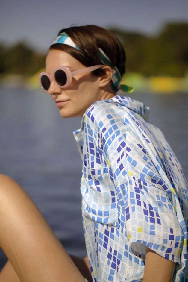 Maison Montagut women's blouse