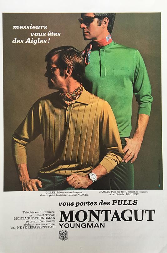 pulls Montagut publicité