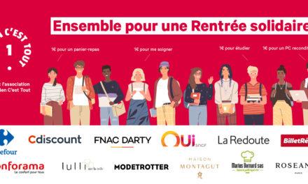 Rentrée solidaire : Maison Montagut se mobilise pour les étudiants avec URCT